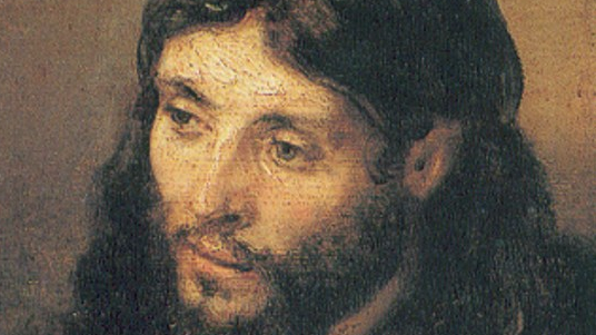 Rembrandt portrait of Jesus